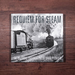 Fotobuch-Regal.de - Rezension:  David Plowden - Requiem For Steam - Vorderseite